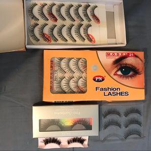 20 pairs of false lashes